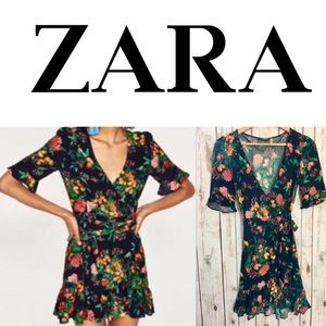 Zara Wrap Dress size S